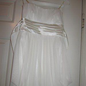 Dress White Size 3